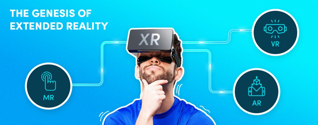 AI can augment Extended Reality (XR) with its intelligence.